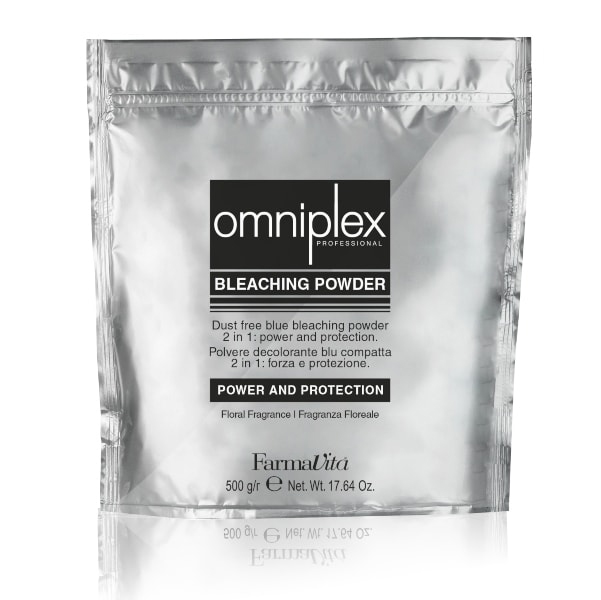 FARMAVITA OMNIPLEX BLEACHING POWDER 2 IN 1 500 GRS
