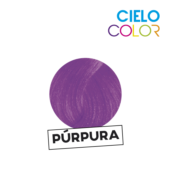 CIELO COLOR SIN AMONIACO PURPURA 47 GRS